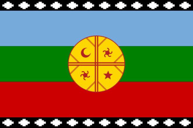 Drapeau Mapuche