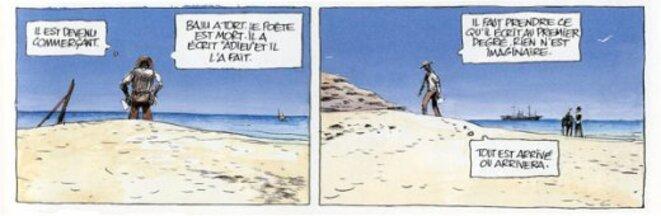 La ligne de fuite -Christophe © Dabitch et Benjamin Flao