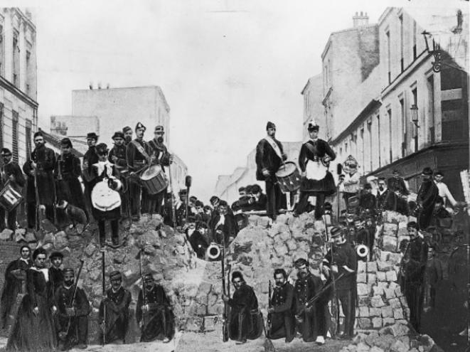Barricade rue de Charonne - 18 mars 1871