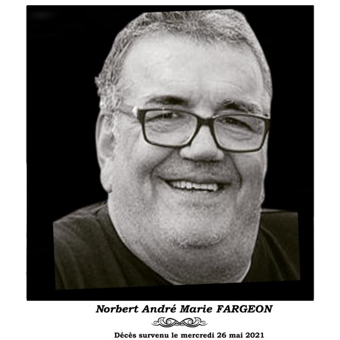 France : Programme des obsèques de feu 'Norbert André Marie FARGEON