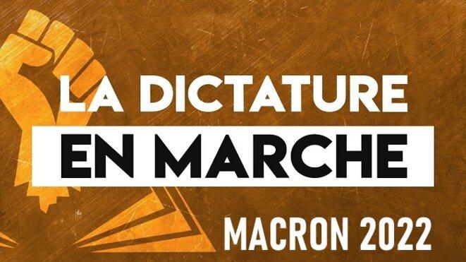 La dictature en marche © Claude Carrère
