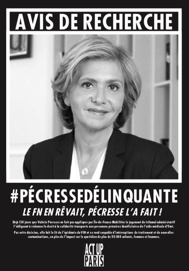 #pecressedelinquante © Act Up-Paris