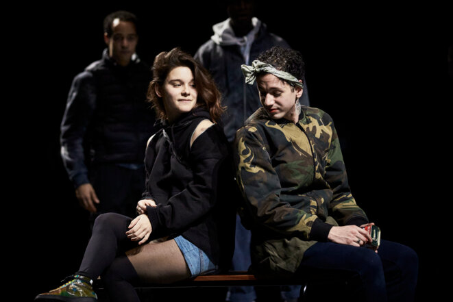 Brûlé.e.s Texte et Mise en scène Tamara Al Saadi © Christophe Raynaud De Lage
