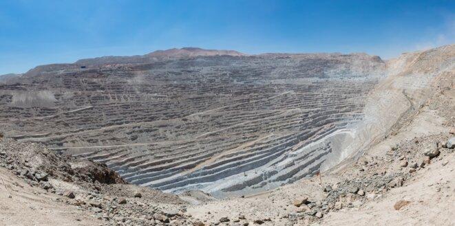 Mine de Chuquicamata (Chili)