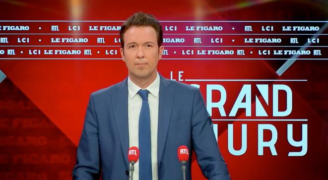 Guillaume Peltier, numéro 2 de Les Républicains, sur RTL le 30 mai 2021 © Capture d'écran RTL/LCI