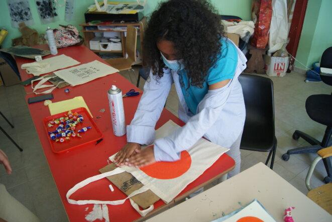 L'association Maestri di Strada accueille jusqu'à 200 jeunes, de la primaire au lycée. © CD