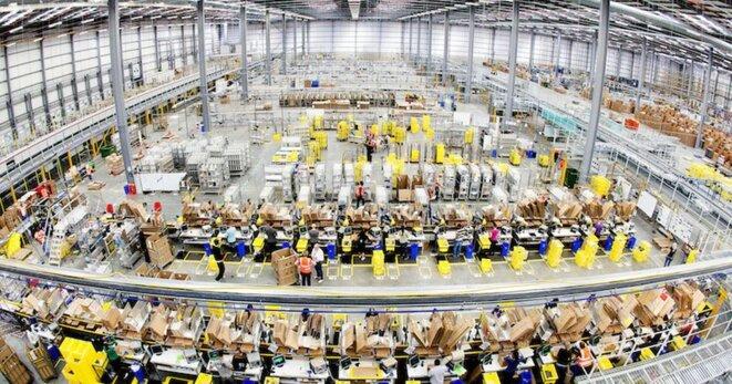 Entrepôt Amazon (Europe)
