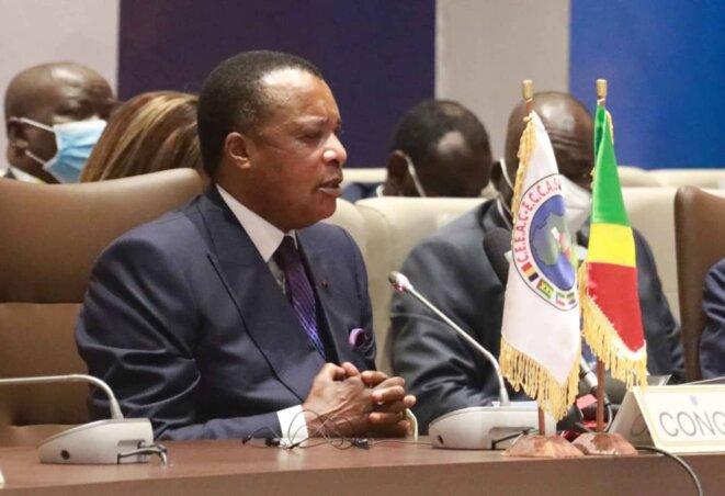 Denis Sassou NGuesso préside le sommet extraordinaire de la CEEAC sur le Tchad à Brazzaville