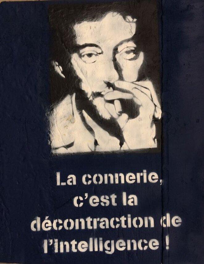 Décontraction © Serge Gainsbourg