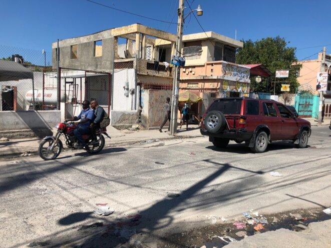 The centre of Port-au-Prince, capital of Haiti, in November 2019. © FB / Mediapart