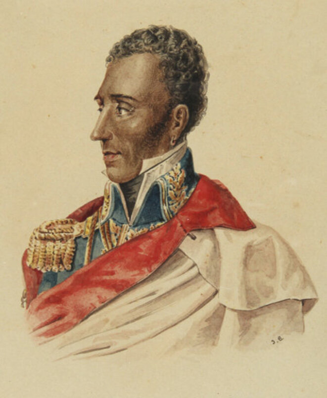 Jean-Pierre Boyer, who was president of Haiti in 1825, had to accept Charles X's treaty. © Wikimedia Commons