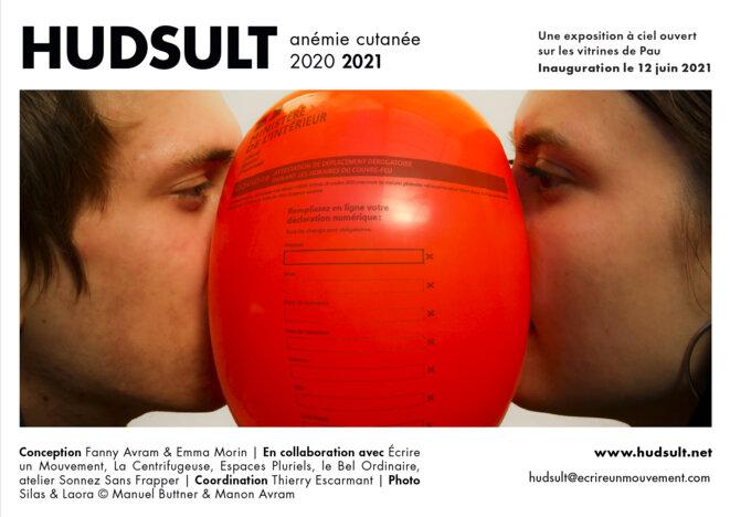 Hudsult / anémi cutanée / Visuel de l'exposition © Manu Buttner et Manon Avram