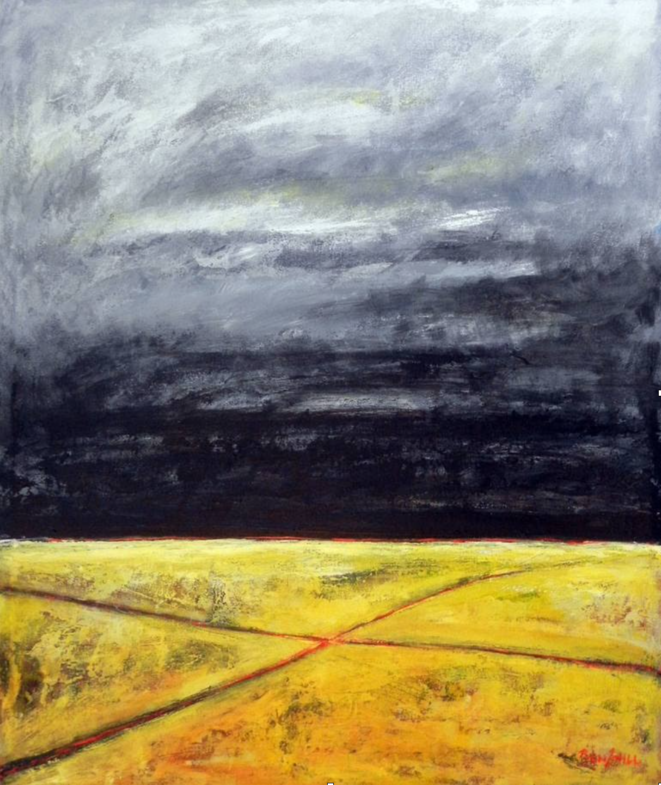 Crossroads Painting © BenWill Studio