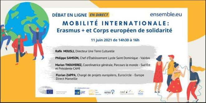 Débat en ligne le 11 juin 2021 de 14 h 30 à 16 h 00. © ensemble.eu