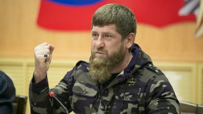 Chechen dictator Ramzan Kadyrov. © (grozny-tv)