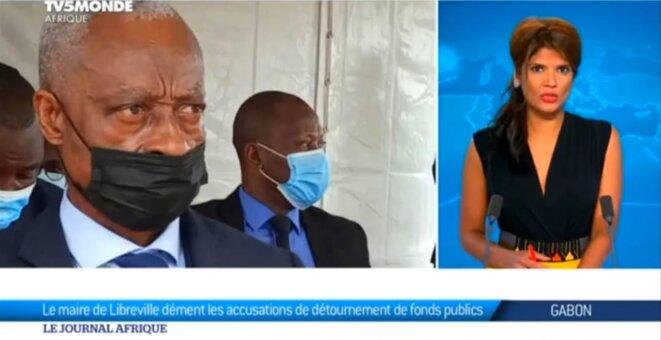 Eugène Mba, Maire de Libreville au Gabon, démenti formel d'un quelconque détournement