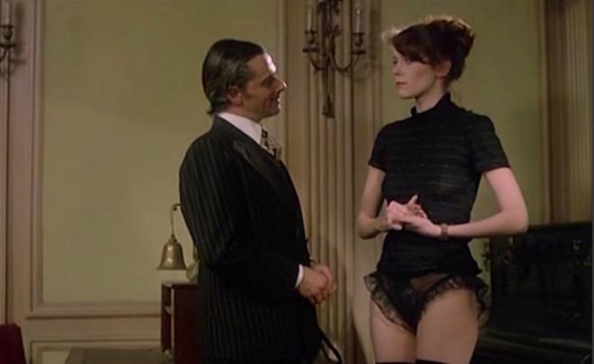 LA MARGE d'André Pieyre de Mandiargues, film de Walerian Borowczyk, 1976.