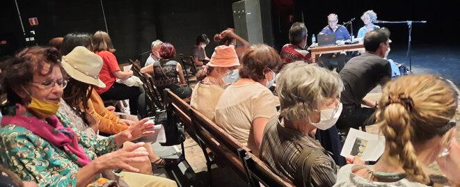 Rencontres Encore Heureux. Conférence © JfN