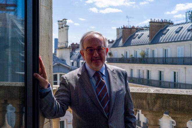 Président de chambre honoraire à la Cour des comptes, Jean-Philippe Vachia a été nommé président de la CNCCFP en juillet 2020. © CNCCFP