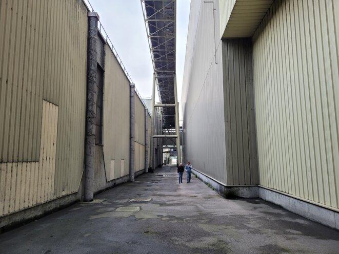 L'usine Chapelle-Darblay. © JM / Mediapart