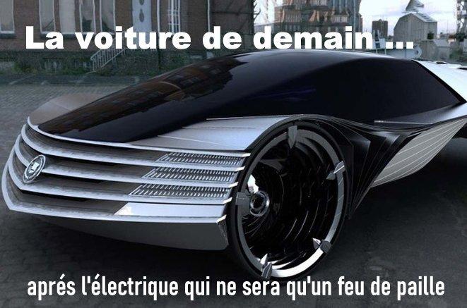 La voiture de demain qui remplacera l'électrique © Alban De Ferris