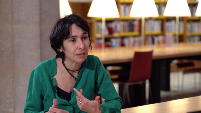 La sociologue Claire Vivès. © Capture d'écran / compte Youtube du Cnam