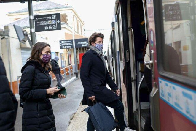 Le plan transports de Julien Bayou met l'accent sur les transports du quotidien © Margot L'Hermitte