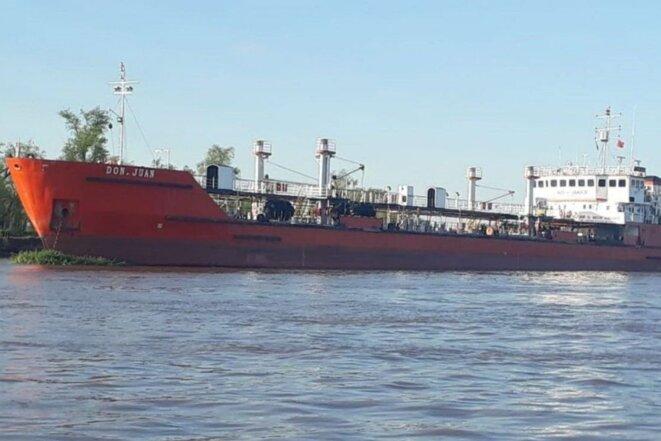 "Le tanker "" Don Juan "". © Aire de Santa Fe"