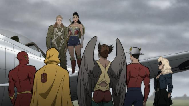 """Justice Society : World War II"" de Jeff Wamester © Warner Bros."