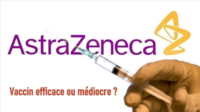 Astrazeneca : efficace ou pas ? © Claude Carrère