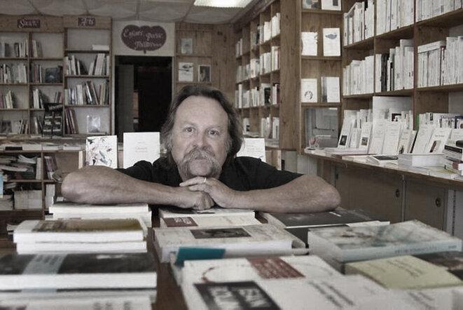 Gérard Lambert-Ullmann, libraire dans l'âme (photo Ouest-France)