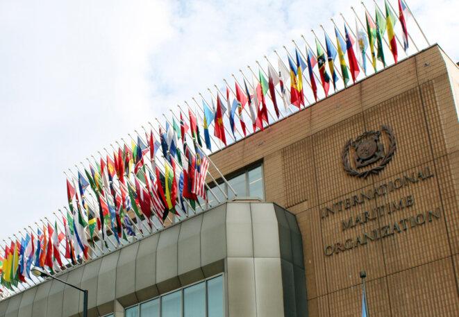 Le siège de l'Organisation maritime internationale, à Londres. © IMO