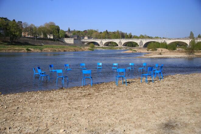 L'Assemblée immatérielle, une installation de l'artiste Zazü © Françis Vautier/Mission Val de Loire