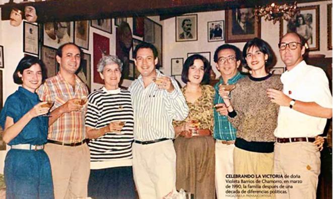 Famille Chamorro - Nicaragua