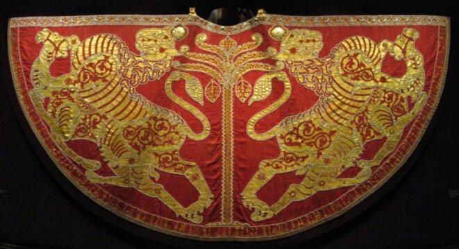 Manteau de sacre de Roger II