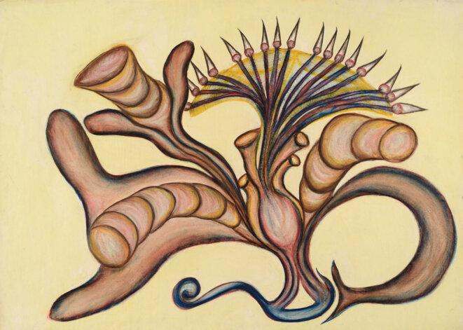 sans-titre-milieu-des-annces-60-pastel-sur-papier-62-5-x-88-cm