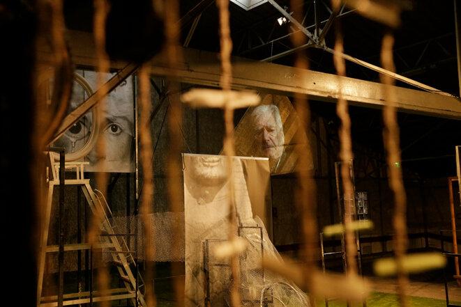 Œdipe au garage, L'expérience Landy, Les Affinités Électives (Clichy-la-Garenne, 2021) © Sabine Villiard