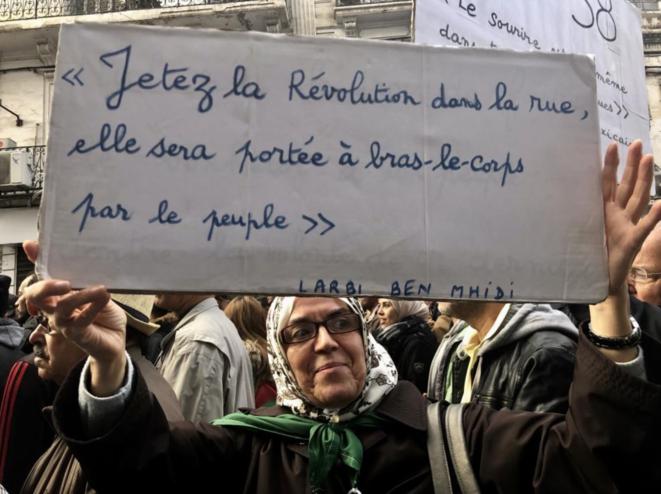Le Hirak dure depuis plus de deux ans en Algérie (Photo d'archives) © Kahina Nour