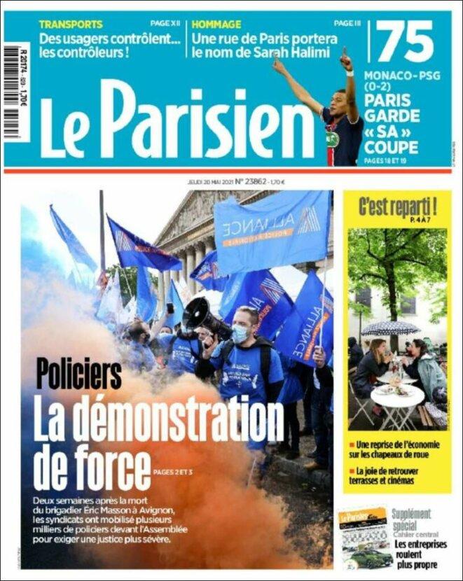 Le Parisien 20 mai 2021