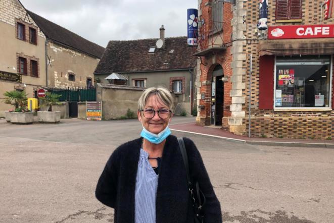 Sylvie, électrice fidèle du RN. © LD