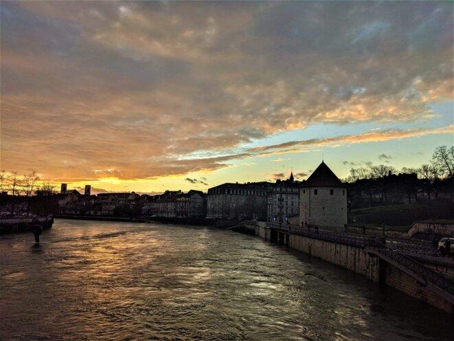Besançon, les quais © Mustapha Kharmoudi