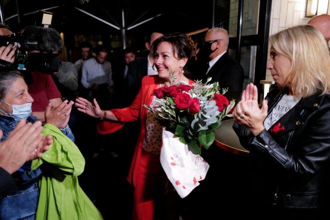 Carole Delga, le 27 juin. © Lionel BONAVENTURE / AFP