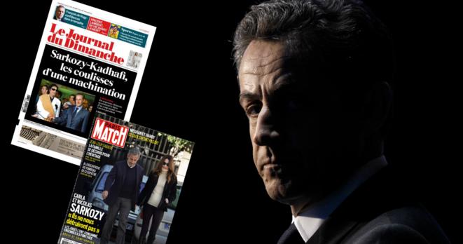 Nicolas Sarkozy. © Kenzo Tribouillard / AFP