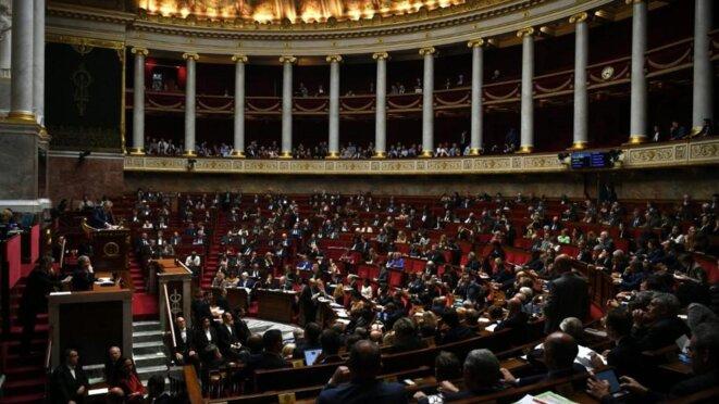 L'Assemblée nationale. © Christophe Archambault / AFP