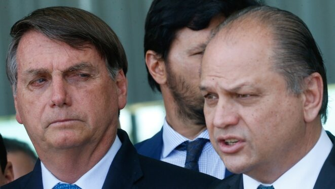 Jair Bolsonaro et Ricardo Barros. © DR