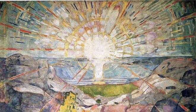 Edvard Munch - Le Soleil (1911)