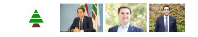 Députés démissionnaires des Phalanges Libanaises (Kataëb) © Didier CODANI