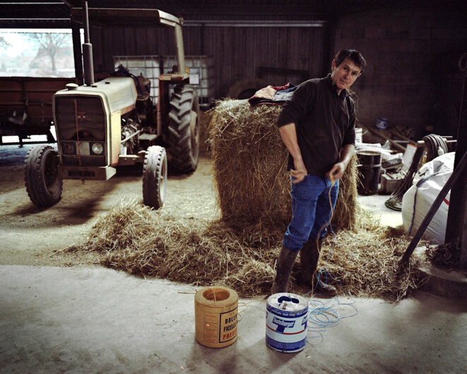 Philippe, paysan d'aujourd'hui © Ivan Constantin