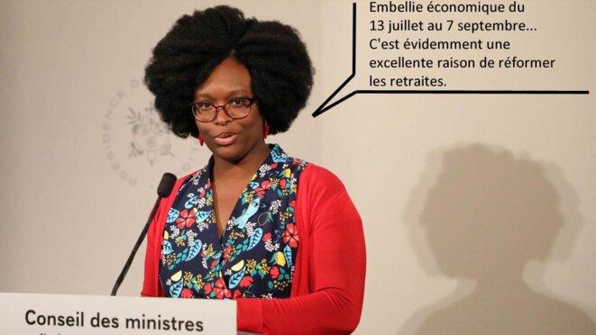 Sibeth Ndiaye de nouveau porte-parole de la macronie