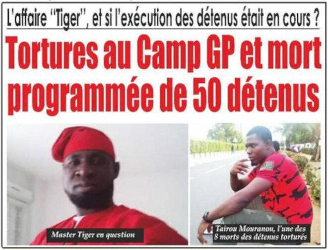 Menaces de tortures par l'armée en 2018 sur 50 prisonniers politiques dans l'Affaire Tiger révolution